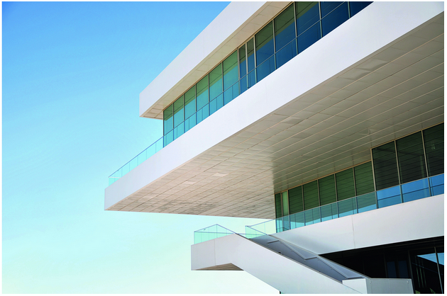 HPL exterior cladding materials from Greenlam Clads